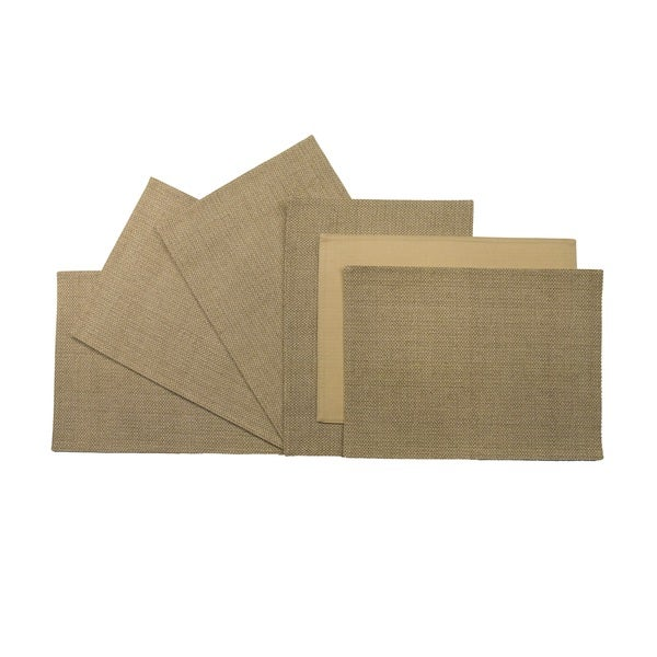 Rose Tree Tan Seagrass Place Mats (Set of 6)