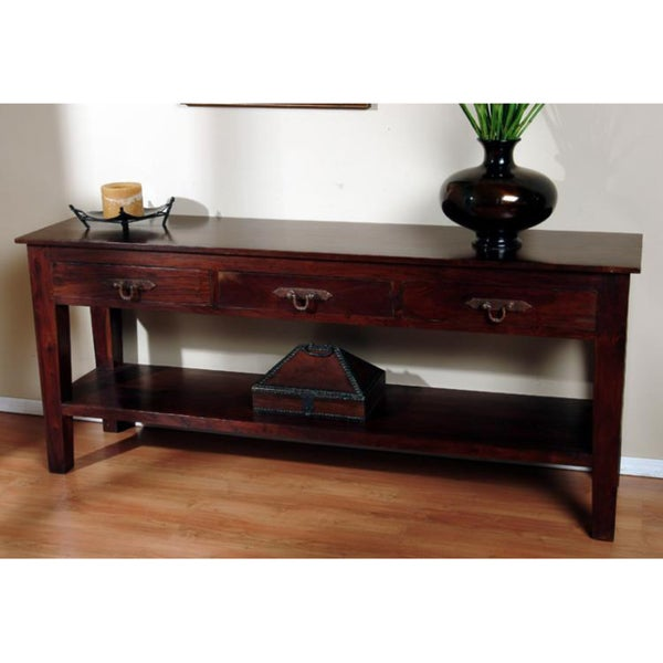 Kosas Home Venice 3-drawer Console Table