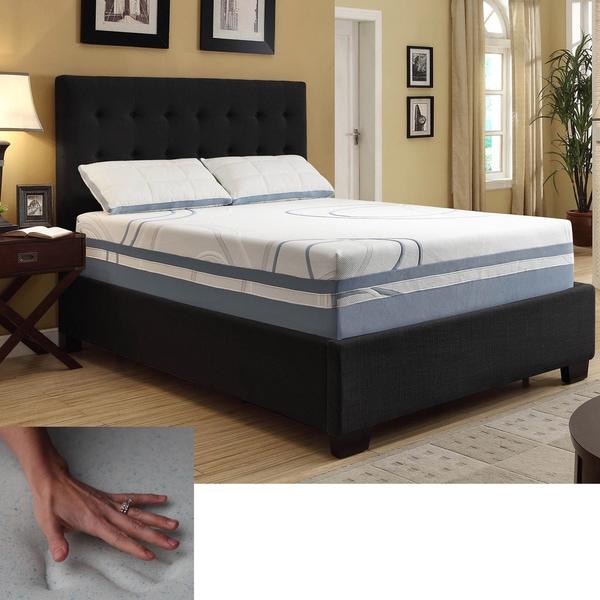 NuForm Luxury Gel Memory Foam 13-inch Dual Layer Queen-size Mattress