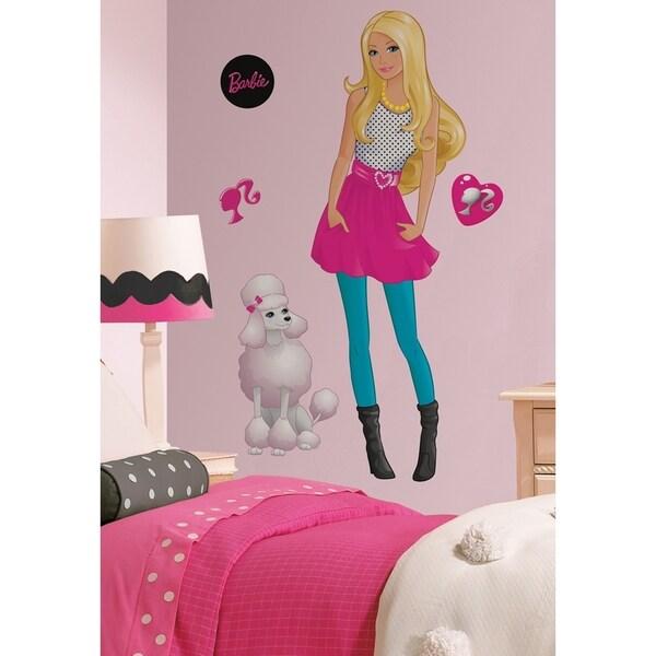 Barbie Peel & Stick Giant Wall Decal