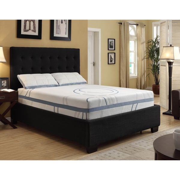 Shop Nuform Luxury Gel Memory Foam 11 Inch Dual Layer Full Size Mattress Overstock 7662803