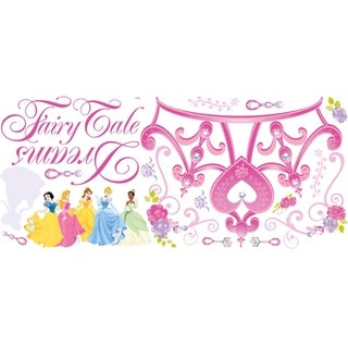 Disney Princess Crown Peel & Stick Giant Wall Decal