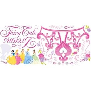 Disney Princess Crown Peel & Stick Giant Wall Decal