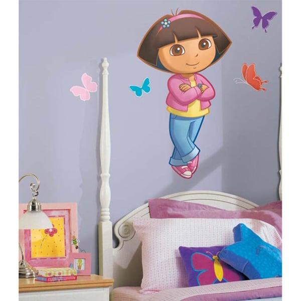Dora the Explorer Peel & Stick Giant Wall Decal