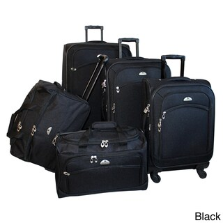 American Flyer South West Expandable 5-piece Spinner Luggage Set