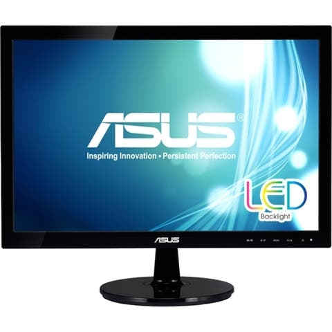 "Asus VS197T-P 18.5"" WXGA LED LCD Monitor - 16:9 - Black"