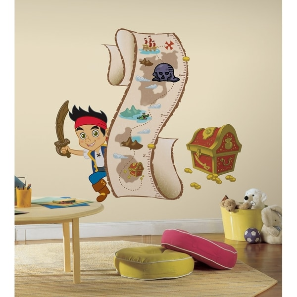 Jake Amp The Neverland Pirates Peel Amp Stick Growth Chart