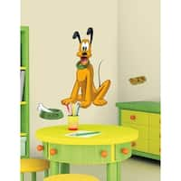 Mickey & Friends Pluto Peel & Stick Giant Wall Decals