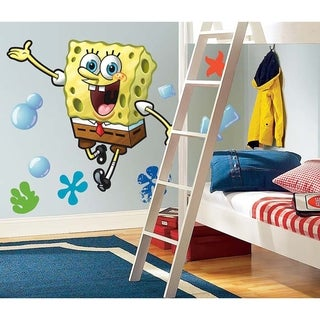Spongebob Peel & Stick Giant Wall Decal