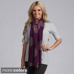 Cashmere Showroom Crysanthemum Blume Scarf