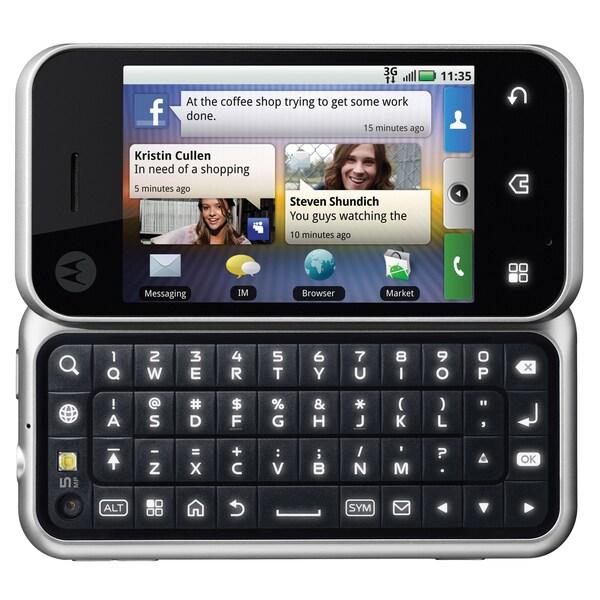 Motorola BACKFLIP GSM Unlocked Android Cell Phone (Refurbished)