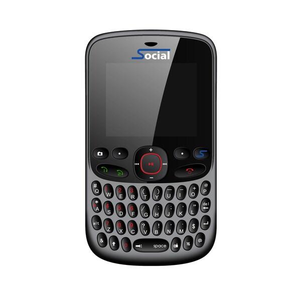 Social FB101 GSM Unlocked Dual SIM Cell Phone