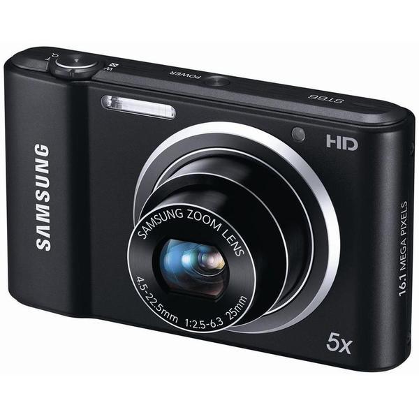 Samsung ST66 16.1 Megapixel Compact Camera - Black