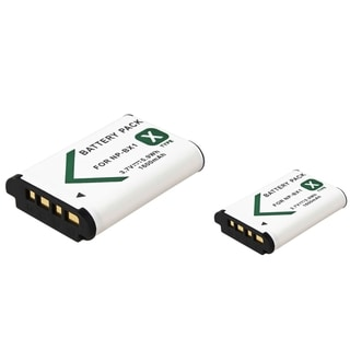 INSTEN Compatible Battery for Sony DSC-RX100 (Pack of 2)