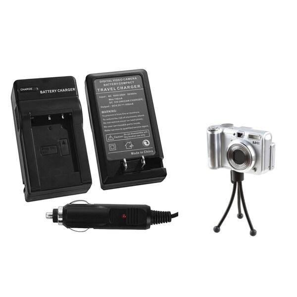 INSTEN Battery Charger/ Mini Tripod for Sony CyberShot DSC-RX100