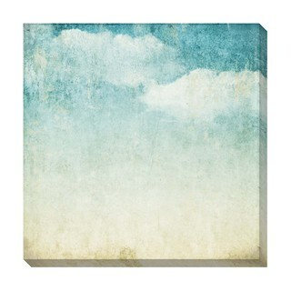 Gallery Direct Vintage Clouds I Oversized Gallery Wrapped Canvas