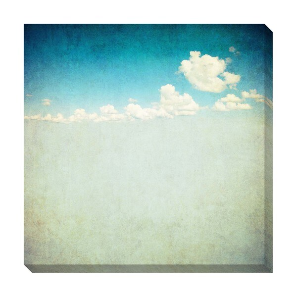 Gallery Direct Vintage Clouds II Oversized Gallery Wrapped Canvas