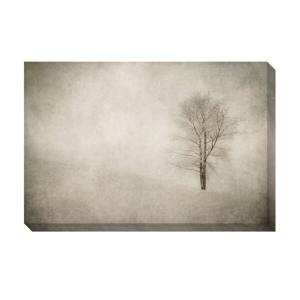 Gallery Direct Winter Tree Oversized Gallery Wrapped Canvas