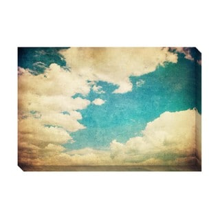Gallery Direct Vintage Clouds IV Oversized Gallery Wrapped Canvas
