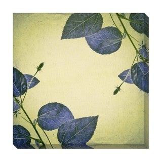 Gallery Direct Hibiscus Flower Pattern I Oversized Gallery Wrapped Canvas