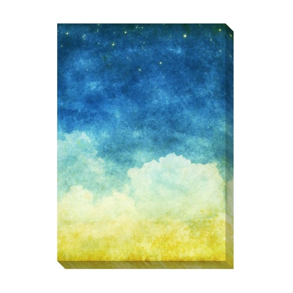 Gallery Direct Sleepy Clouds III Oversized Gallery Wrapped Canvas