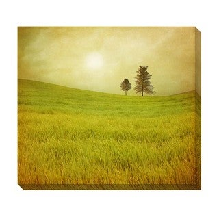 Gallery Direct Field Trees Oversized Gallery Wrapped Canvas