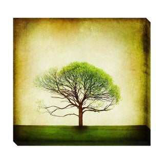 Gallery Direct Single Tree Oversized Gallery Wrapped Canvas