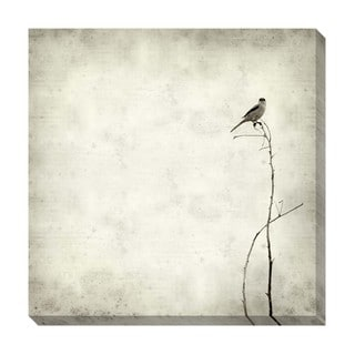 Gallery Direct Bird Black and White Oversized Gallery Wrapped Canvas