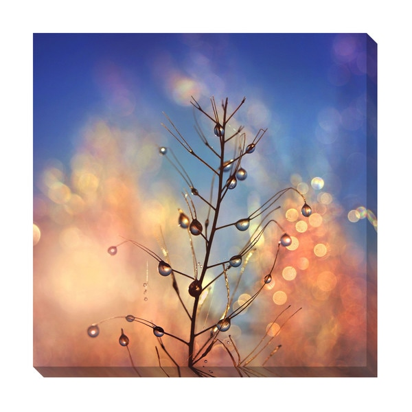 Gallery Direct Tears and Fire Oversized Gallery Wrapped Canvas