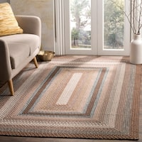 Safavieh Hand-woven Country Living Reversible Brown Braided Rug - 2'3 x 6'