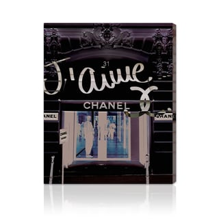 Oliver Gal '31 Rue Cambon' Canvas Art