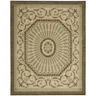 Nourison Hand-tufted Versailles Palace Mocha Rug (8' x 11')
