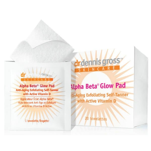 Dr. Dennis Gross Skincare Alpha Beta Glow Pad for Face (20 Towelettes)