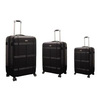 NY Cargo Hercules Vacationer 3-piece Hardside Spinner Luggage Set