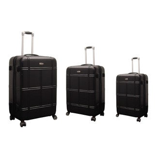 NY Cargo Hercules Vacationer 3-piece Hardside Spinner Luggage Set