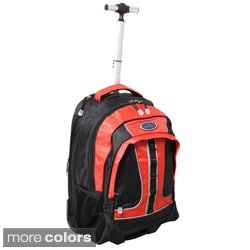 Rolling Computer Laptop Carry-on Backpack