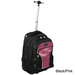 World Traveler On-The-Go Wheeled Laptop Computer Rolling Backpack