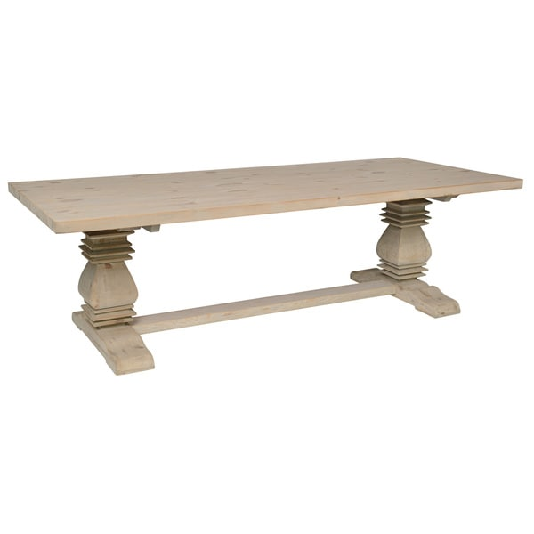 Bento Reclaimed Wood 98-inch Dining Table by Kosas Home. Opens flyout.