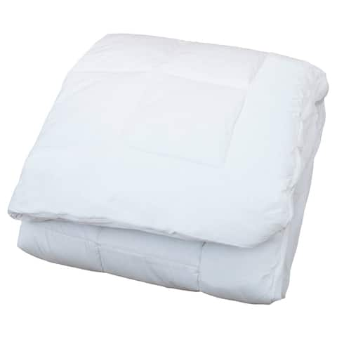 Classic Linen Marbella Box Quilted Waterproof Mattress Pad - White