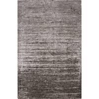 Hand-woven Solid Grey Casual Marlboro Area Rug (5' x 8')