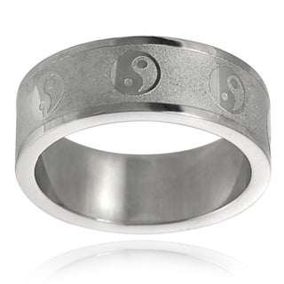 Vance Co. Stainless Steel Etched Band (8 mm)