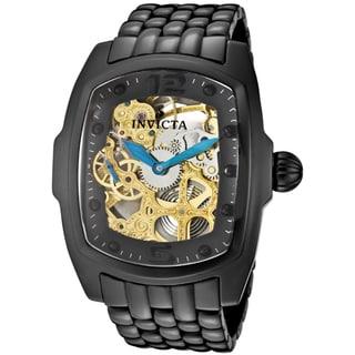 Invicta Men's 'Lupah' Black Ceramic Watch