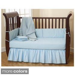 American Baby Company Cotton Percale 5-piece Crib Set