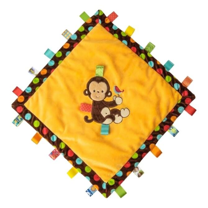Mary Meyer Taggies Dazzle Dots Monkey Cozy Tag Blanket (P...