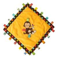 Mary Meyer Taggies Dazzle Dots Monkey Cozy Tag Blanket