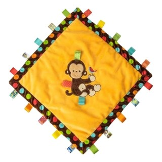 Mary Meyer Taggies Dazzle Dots Monkey Cozy Tag Blanket