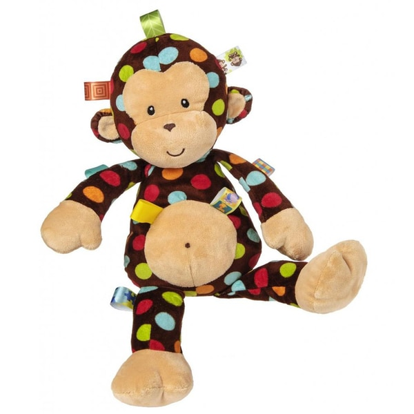 Mary Meyer Taggies Big Dazzle Dots Monkey Toy