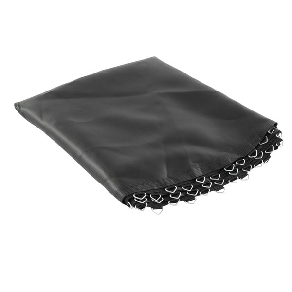 Trampoline Replacement Jumping Mat for 12 ft. Trampoline with Round Frames, 84 V-Rings, and Using 6.5-inch Springs