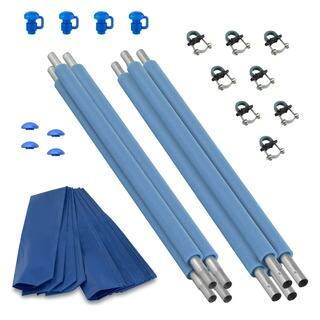 Trampoline Replacement Enclosure Poles and Hardware (Set of 4)|https://ak1.ostkcdn.com/images/products/7666513/P15078913.jpg?impolicy=medium