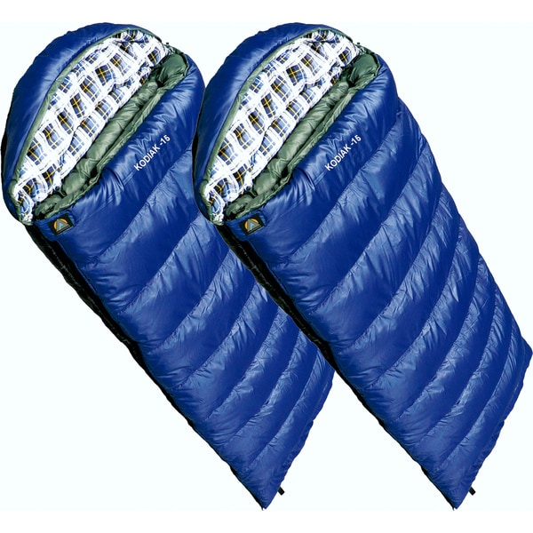 Alpinizmo by High Peak USA Kodiak -15 Sleeping Bag (Set of 2)